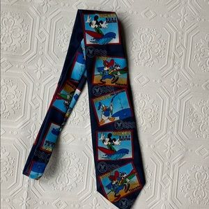 Disney Mickey And Friends Tie by Mickey Unlimited